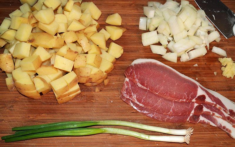 Light & Loaded Potato Soup Ingredients