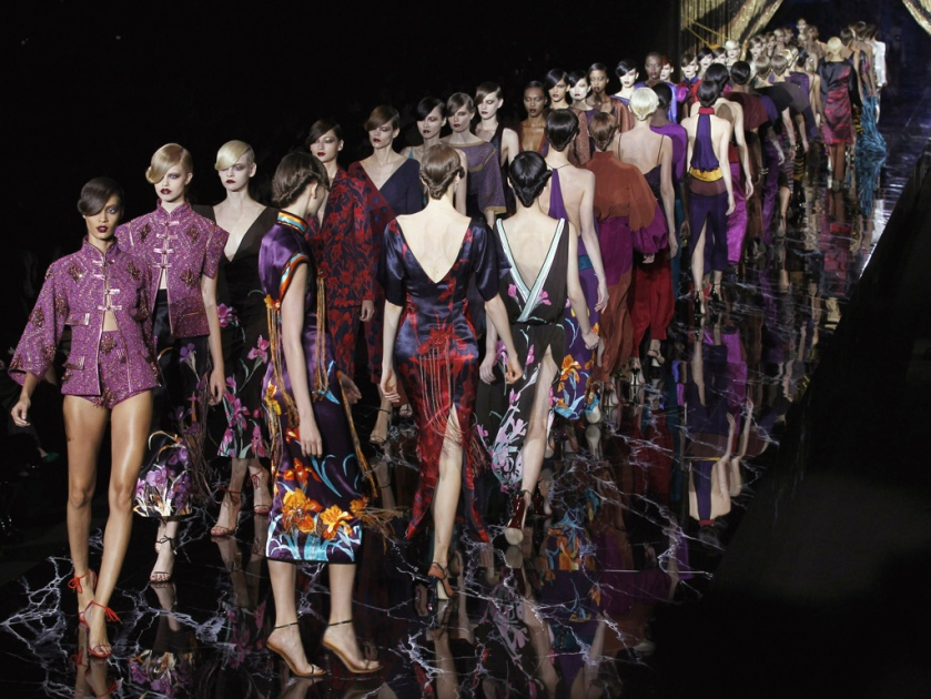 Marc Jacobs for Louis Vuiton have already dabbled in Chinoiserie