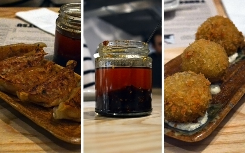 Excellent fried nibbles, and a delicious homemade chilli sauce