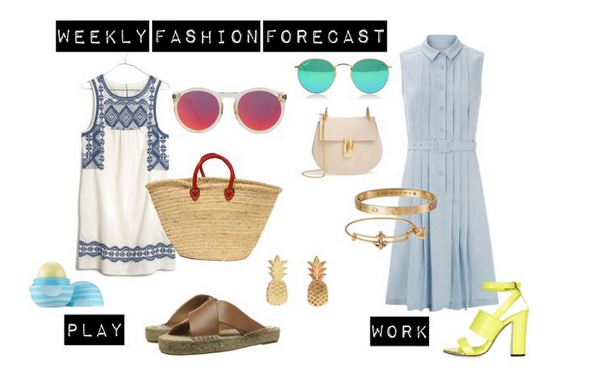 Weekly Fashion Forecast Clothew