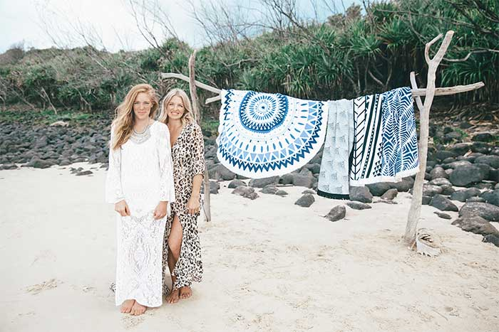 Emma Henderson and Victoria Beattle, the minds behind The Original Roundie